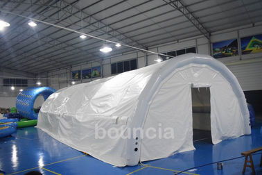 Barraca hermética exterior branca durável/barraca inflável do evento com o encerado do PVC de 0.9mm