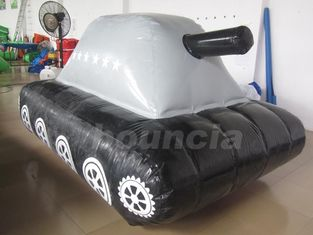 tanque militar inflável da tela de encerado do PVC de 0.6mm/de 0.9mm para o esporte do Paintball