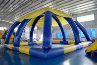 10mL * 10mW * grande piscina 5mH inflável com aprovação do CE da tampa da barraca