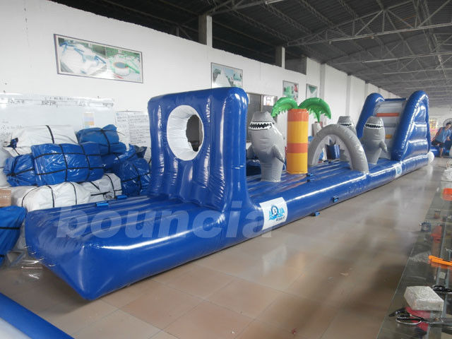 Custom Inflatable Water Sport /  Pool Inflatable Water Obstacle Course