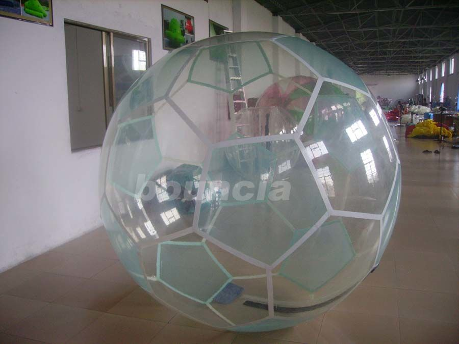 Inflatable Soccer Water Walking Ball , Water Walking Ball  Used In Lake Or Pool
