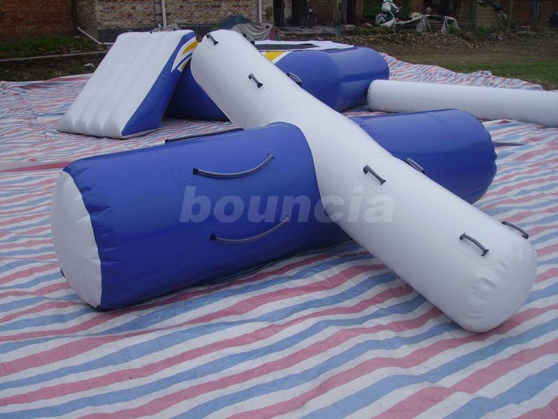 0.9mm PVC Tarpaulin Inflatable Water Totter For Pool