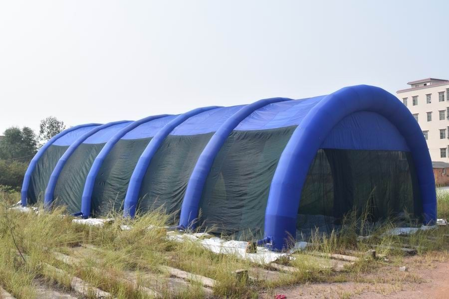 30m Long Large Inflatable Paintball Arena For Outdoor Activity
